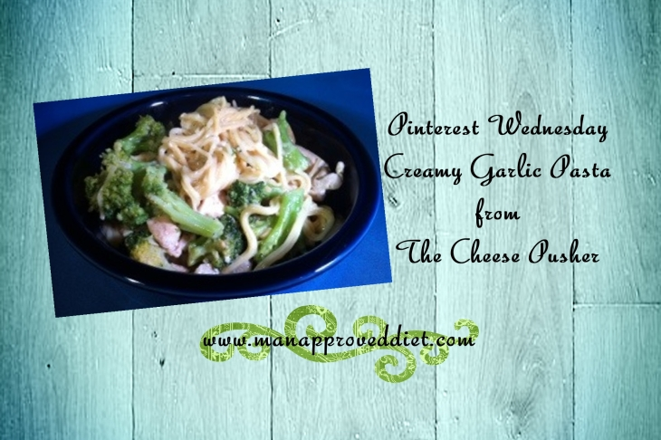 Creamy Garlic Pasta PW-001