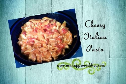 Cheesy Italian Pasta-001
