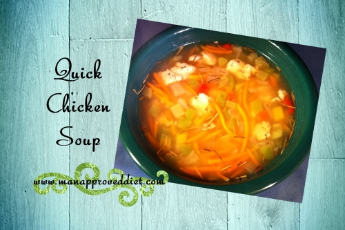 Quick Chicken Soup-001