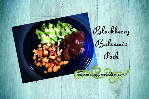 Blackberry Balsamic Pork-001