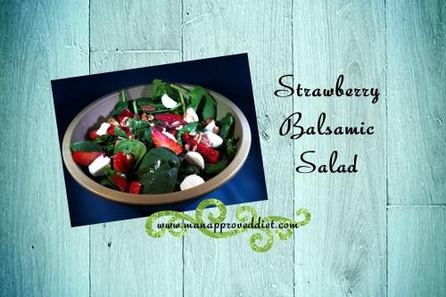 Strawberry Balsamic Salad-001