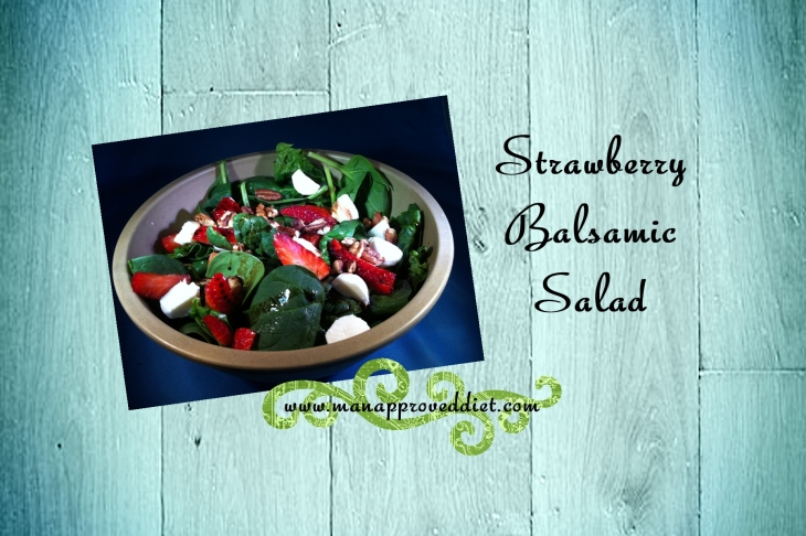 Strawberry Balsamic Salad-001